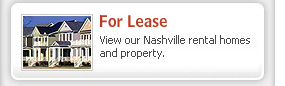 Rental Homes Nashville Tennessee